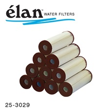 élan™ Filters: .35 Micron Pleated Cartridges Brown End (Case of 24)