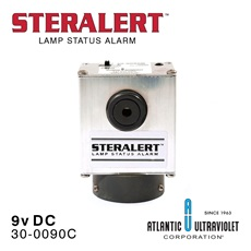 STERALERT™ Lamp Status Alarm with Internal Sounder, Complete with Mounting Collar