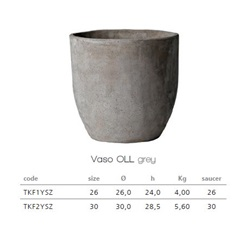 Vaso Oll Clay Pot