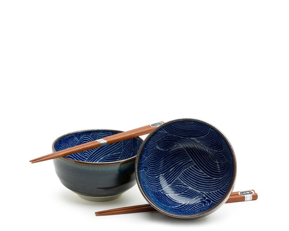"Aranami 5"" Bowl For Two Set"