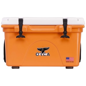 Orange/White 26 Quart