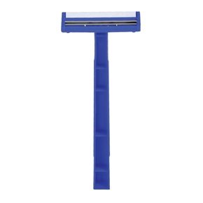 Quality® Lightweight Twin Blade Razor, Lubricant Strip