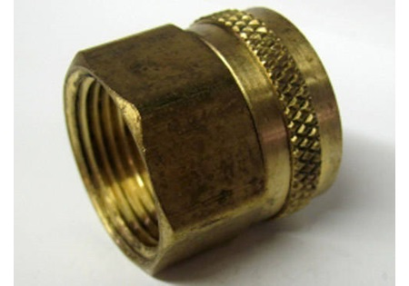 "Brass 3/4"" FPT x FGHT Adapter"