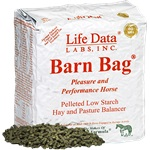 11 lb Bag Single Barn Bag Pleasure and Performance Horse Feed Con.