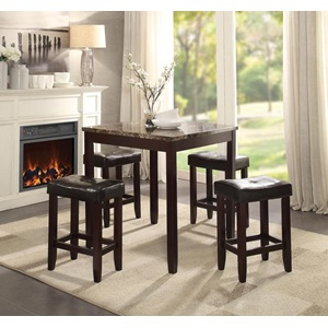 70305 5PC PK COUNTER H. DINING SET
