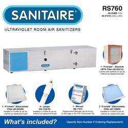 Sanitaire Model RS760 Included Accessories