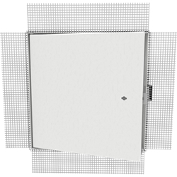Insulated Fire-Rated Access Door with Plaster Bead Flange