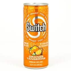 Switch, Orange Tangerine - 8oz (Case of 24)