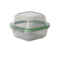 "MyGo™ Sandwich-Sized Compartment Container, 5-½"" X 5-½"" X 3-½"""