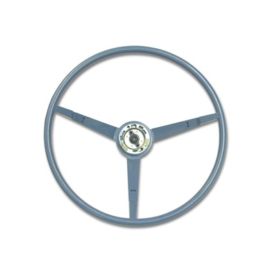 1966 Standard Steering Wheel (Light Blue)