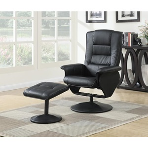 59365 CHAIR WITH OTTOMAN