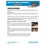 Motor Replacement