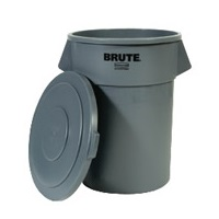 Rubbermaid 55 Gallon Gray Brute Lid