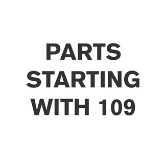 Parts Starting With 109