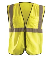 High Visibility Value Mesh Surveyor Safety Vest