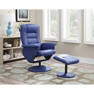 59366 CHAIR WITH OTTOMAN