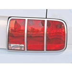 2005-09 Tail Light Trim, satin chrome