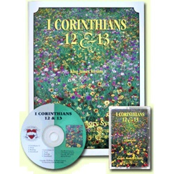 Thy Word - 1 Corinthians 12 & 13 - KJV - 1 Book w/CD