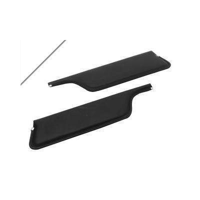 1967-68 MUSTANG SEAL//ROOF RAIL 67-68 COUPE PAIR