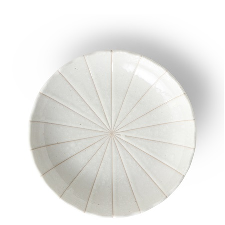 "Kasa Lines White 6.5"" Plate"