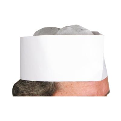 Winco DCH-3 Disposable Chef's Hat 3""