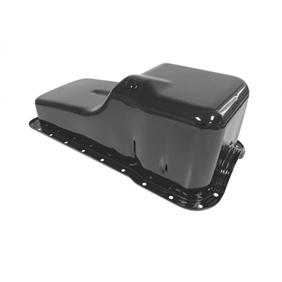 1964-69 Concours Small Block Oil Pan (Black)