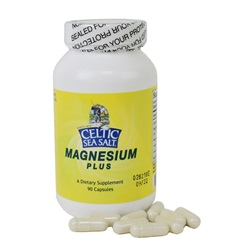 Celtic Sea Salt Magnesium Plus 90 caps