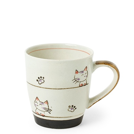 Calico Orange Cat Mug