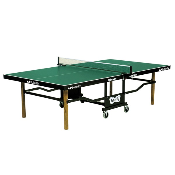 Butterfly Table Tennis - Nippon Rollaway Table: Quality, Playback