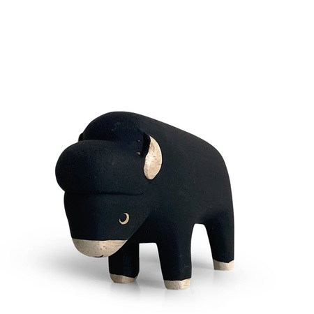 T-Lab Wooden Animal - Bison