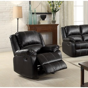 52287 BLACK ROCKER RECLINER