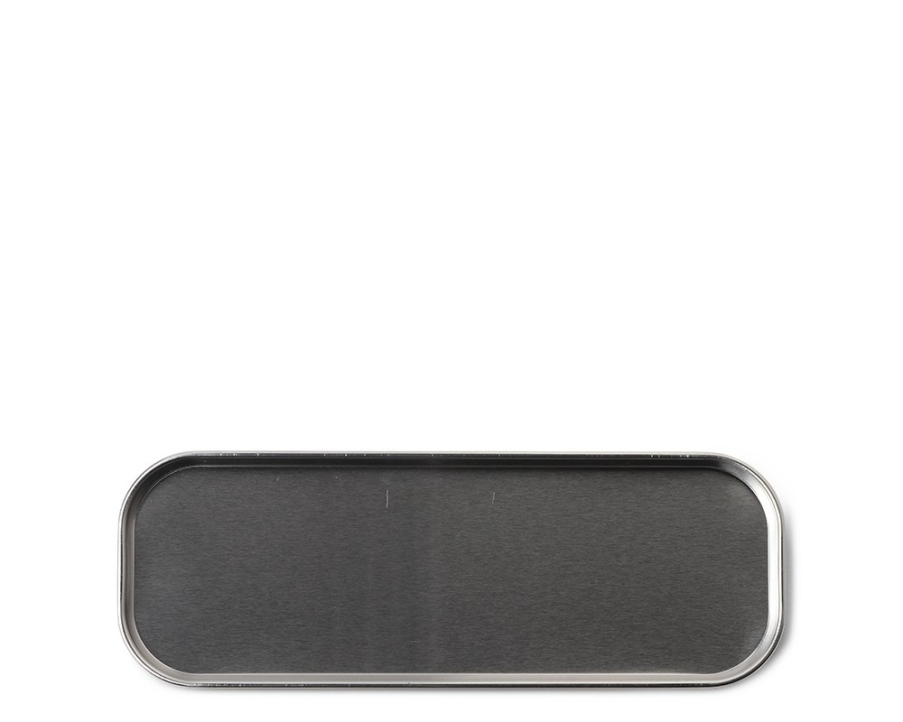 "Tray 10"" x 3.5"" Stainless Steel"