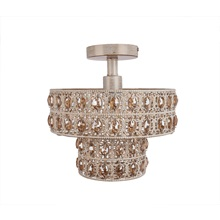"11.6""H Dual Tiered Semi-Flush Mount"