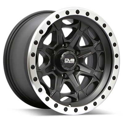 REV Off Road 886 Series Beadlock 17x9 6x139.7 - Matte Black