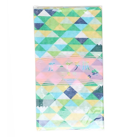 Tea Towel - Green Diamonds