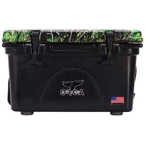 Moonshine Toxic Camo Lid Black 26 Quart