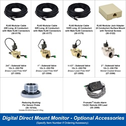 Digital Direct Mount Monitor - Optional Accessories