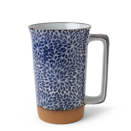 Blue Mums 12 oz. Tall Mug