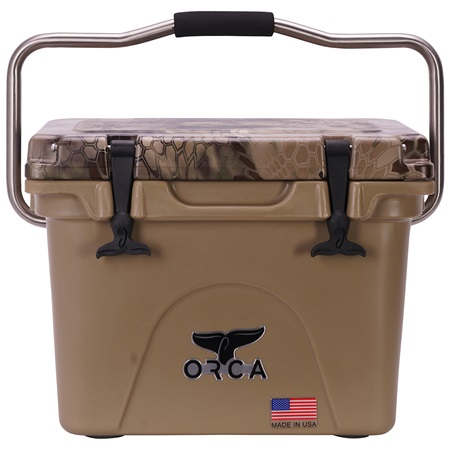 Kryptek Highlander Camo Lid Tan 20 Quart