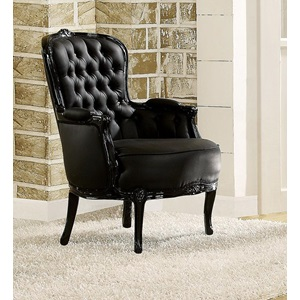 59148 BLACK ACCENT CHAIR