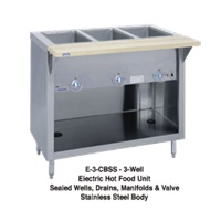 Duke E-3-CBSS Three Well Thurmaduke Hot Food Steam Table