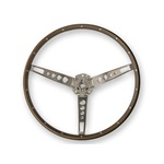 Deluxe Steering Wheel (Wood)