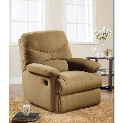 00627W LIGHT BROWN MFB RECLINER