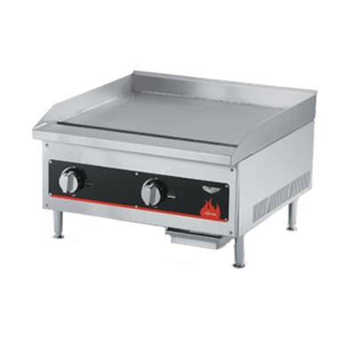 "Vollrath 36""W Cayenne Gas Flat Top Griddle"