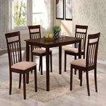 70325 ESPRESSO 5PC PK DINING SET