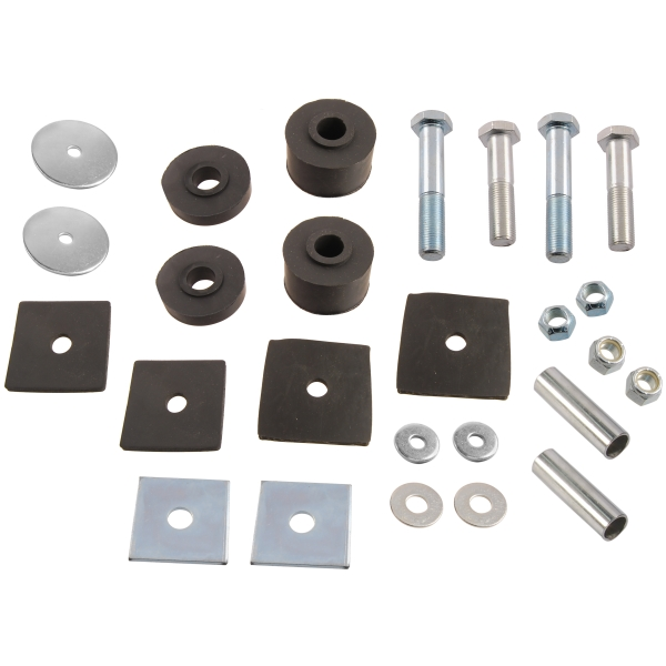 Steele Rubber Products Body Mounting Pad Kit