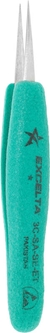 "Tweezer - *- Straight Very Fine - 4.75"" SS/Anti-Ma"
