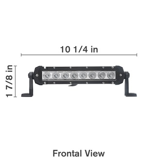 Combo Flood/Spot Light Bar - 10""