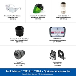 Tank Master TM13 to TM64 Optional Accessories