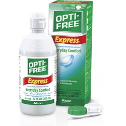 Opti-Free Express Contact Lens Solution, 10 oz.